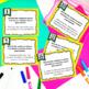 ELA Language Common Core Task Cards 5th Grade {L.5.2: Comm