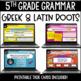 ELA Language Common Core Task Cards 5th Grade {L.5.4 Conte