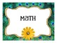 ELA & Math 4th CCS I Can Animal print theme VERSION 2