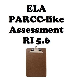 ELA PARCC-Like assessment - RI 5.6