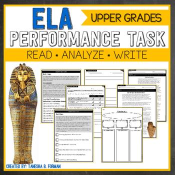 ELA Performance Task - Ancient Egypt