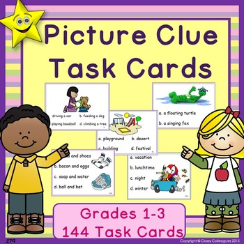 Picture Clue Task Cards