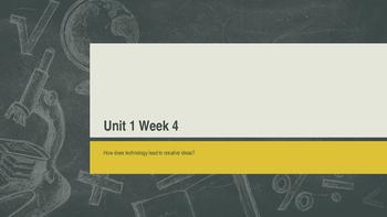 Unit 1 Week 4 Power Point Presentation Mc Graw Hill ELA Wo