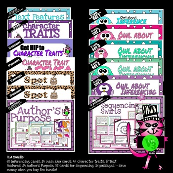 Reading QR Bundle: Character Traits, Inferencing, Text Fea