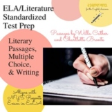 ELA Regents: *NEW* Literary Passages, Multiple Choice, Wri