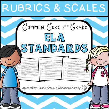 ELA Rubrics and Scales Common Core 3rd Grade