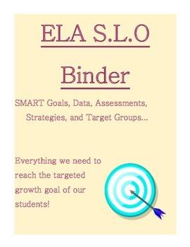 ELA SLO Binder Dividers