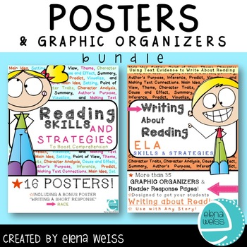 READING Skills and Strategies: GRAPHIC ORGANIZERS & POSTER