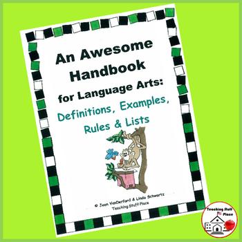 LISTS HANDBOOK   Language SKILLS   Definitions, Examples,