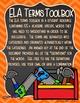 ELA Terms Toolbox Grades 3-6