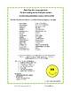 REVIEW Language   Grammar Grade 3 CORE LISTS   Practice Wo