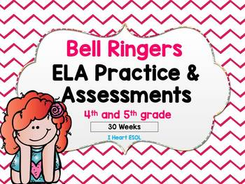 ELA Daily Practice/Morning Work/Homework and Weekly Assess