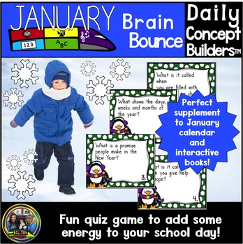 Word of the Day January Vocabulary Game