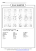 ELA Word Search Packet