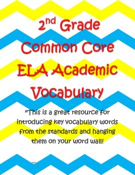 ELA Word Wall Cards for the Entire Year