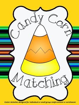 ELA and Math Candy Corn Matching
