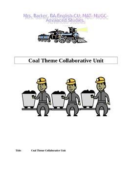 ELA and Social Studies Collaborative Cultural Coal Mine Unit