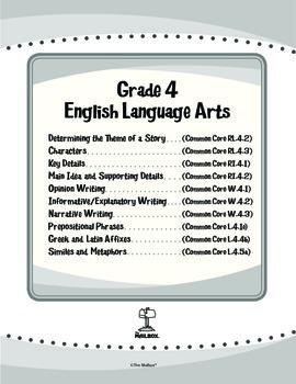 ELA eUnits Gr. 4 - Set of 10