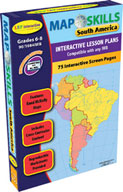 Map Skills: South America