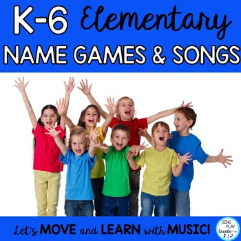 Songs, Name Games, and Chants with Mp3's K-6