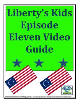 ELEMENTARY- Liberty's Kids Video Guide #11-Washington Take