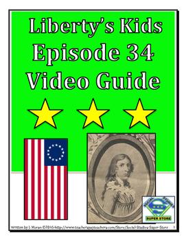 ELEMENTARY- Liberty's Kids Video Guide #34 - Deborah Samps