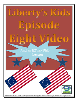 ELEMENTARY- Liberty's Kids Video Guide #8- Second Continen