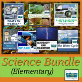 ELEMENTARY SCIENCE BUNDLE: Water & Life Cycles, Weather, M
