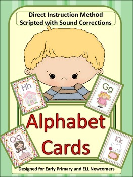 ESL Activity:  Newcomers and Early Primary Letter/Sound Ca