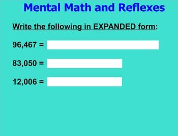 EM4 - Everyday Math Unit 3 - Grade 4 (Common Core Aligned)