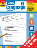 Daily Language Review: Grade 1 (Enhanced eBook)
