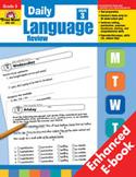 Daily Language Review: Grade 3 (Enhanced eBook)