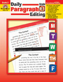 Daily Paragraph Editing: Grade 3 (Enhanced eBook)