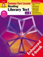 Reading Literary Text: Common Core Lessons, Grade 2 - e-book