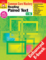 Reading Paired Text: Common Core Mastery, Grade 6 - e-book
