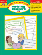 Take It to Your Seat Writing Centers, Grades 5-6 (Enhanced eBook)