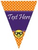 EMOJI EDITABLE Pennants Chevrons Flags - Small and Large