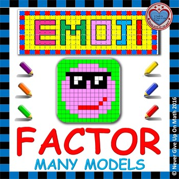 EMOJI - Factor: GCF, Difference of 2 Squares, 3 Terms, Per