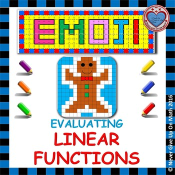 EMOJI - Evaluating Linear Functions