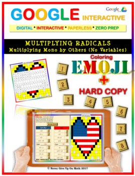 EMOJI - Multiplying Radicals (Mono by Others) (Google Inte