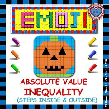 EMOJI - Solving Absolute Value Inequalities (including Spe