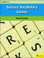 Science Vocabulary Games