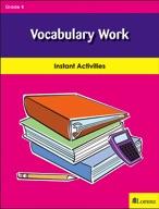 Vocabulary Work