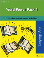 Word Power Pack 1 for Grades 2-3