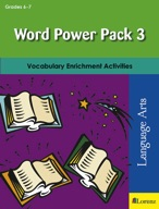 Word Power Pack 3 for Grades 6-7