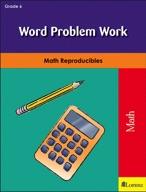 Word Problem Work