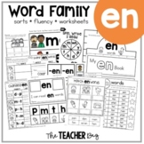 EN Word Family Activities