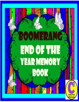END OF THE YEAR MEMORY BOOK - BOOMERANG