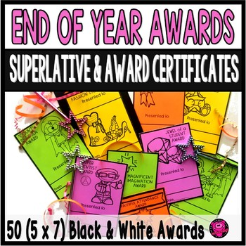 End of School Awards that are Ink Friendly