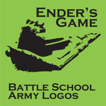 ENDER'S GAME Battle School Army Logo Project